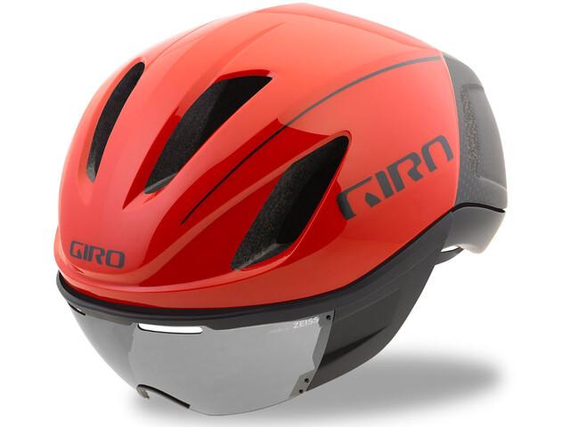 Giro Vanquish MIPS casco per bici rosso/nero